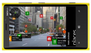 Nokia Maps su Nokia Lumia 920
