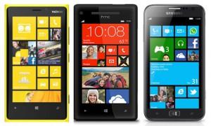 Nokia Lumia 920 - HTC 8X - Samsung ATV S