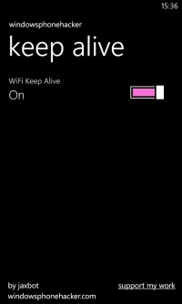 Keep Alive