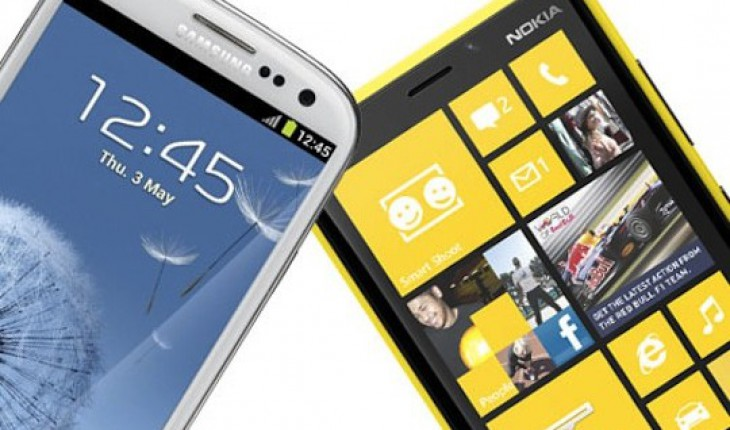 Nokia Lumia 920 vs Samsung Galaxy S3