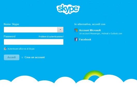 Skype per Windows v6.0