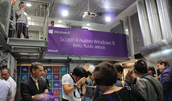 Evento Windows 8 - Microsoft Italia