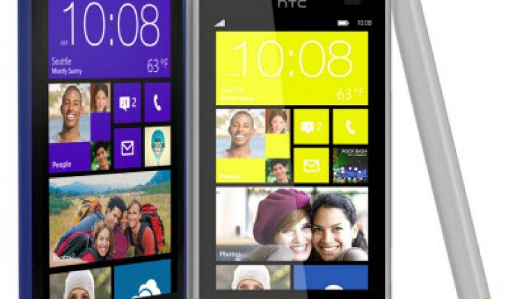 HTC 8X e HTC 8S