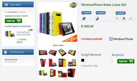 Lumia 820 NStore