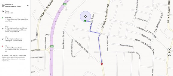 Nokia maps on Windows 8