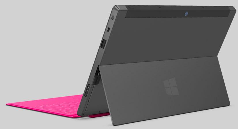 Surface tablet specifiche tecniche foto e video ufficiali windowsteca blog - Surface vitree rt 2012 ...