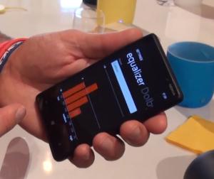 Equalizzatore audio su Nokia Lumia 820