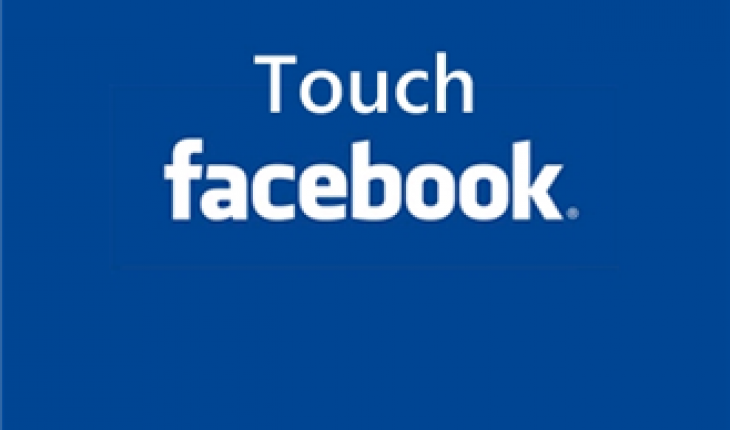 Touch Facebook