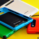 Cover con supporto al Wireless Charging per Nokia Lumia 820