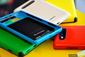 Cover con supporto al Wireless Charging per Nokia Lumia 820