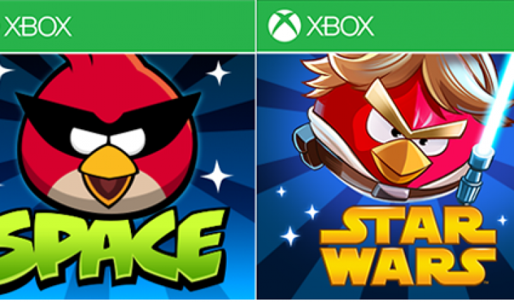 Angry Birds Space e Angry Birds Star Wars