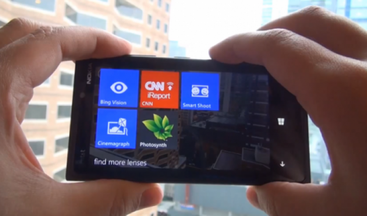 Camera Lenses su Windows Phone 8