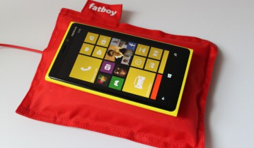 Nokia Lumia 920 e Wireless Charging Fatboy