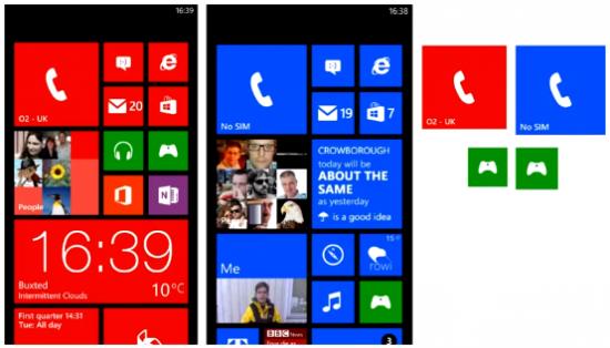 HTC 8X (sinistra) vs Nokia Lumia 920 (destra)