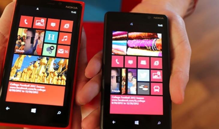 Nokia Lumia 920 e 820