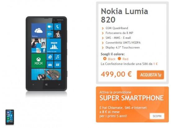Nokia Lumia 820 Wind