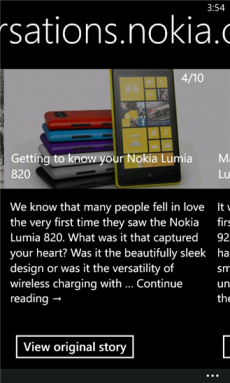 Nokia Xpress Beta