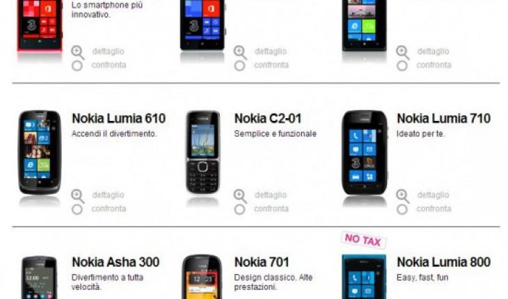 Offerta Nokia H3G