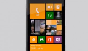 Start Screen WP8