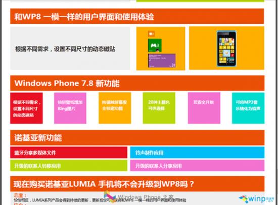 Windows Phone 7.8 Slide