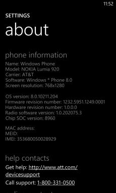Nokia Lumia 920 PR1.1 Update
