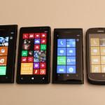 Nokia Lumia 900, Nokia Lumia 820, Nokia Lumia 800, Nokia Lumia 610