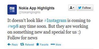 Nokia Lumia Instagram App