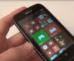 Nokia Lumia 610 con WP7.8