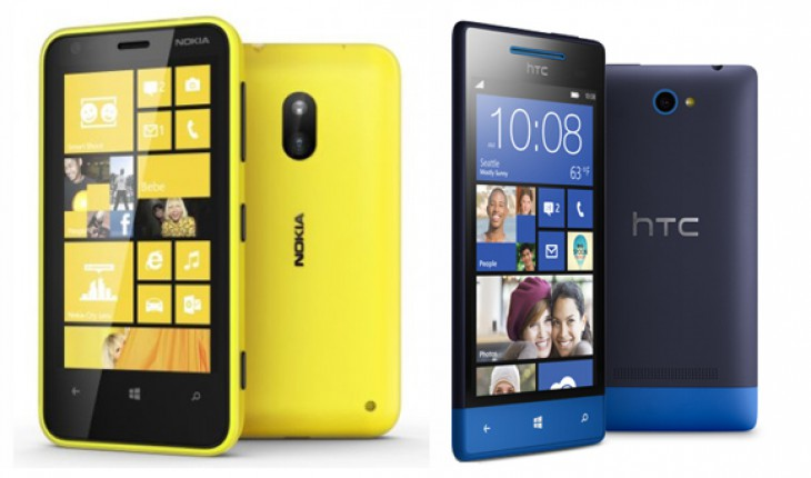Nokia Lumia 620 vs HTC 8S