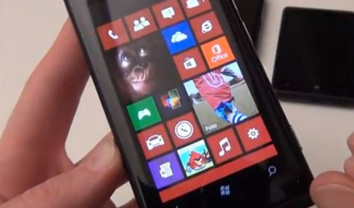 Nokia Lumia 800 con Windows Phone 7.8