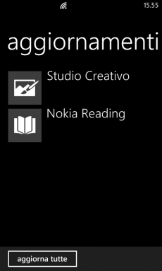 Studio Creativo e Nokia Reading update