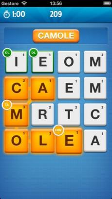 Ruzzle game