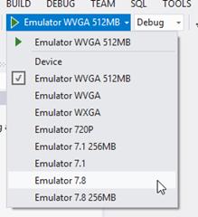 SDK per WP7.8