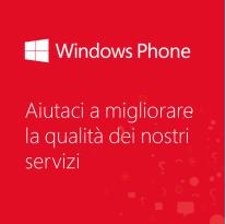 Windows Phone italia sondaggio