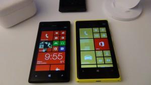 HTC 8X vs Nokia Lumia 920