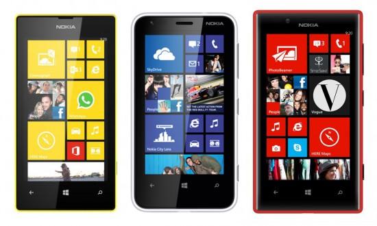 Nokia Lumia 520 - Nokia Lumia 620 - Nokia Lumia720