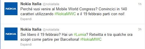 Nokia MWC Twitter Contest