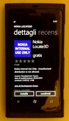Nokia Located 3D