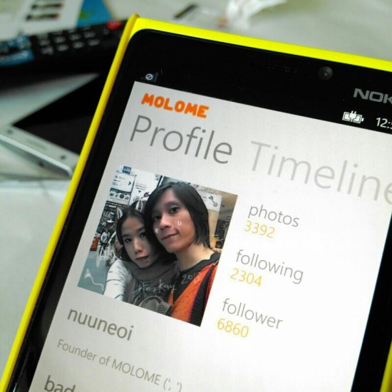 Molome per Windows Phone
