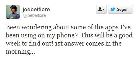 Tweet Joe Belfiore