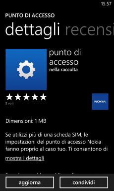 Punto di Accesso update