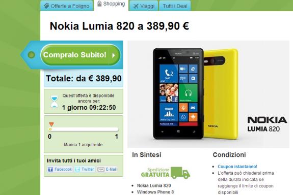 Nokia Lumia 820 Groupon