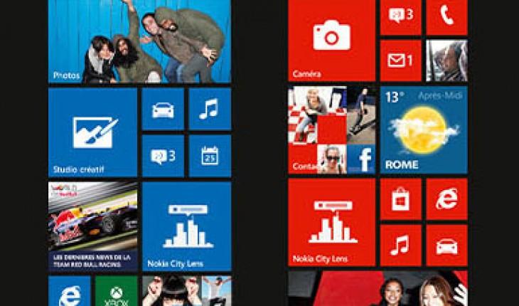 Nokia Lumia Start Screen Challenge