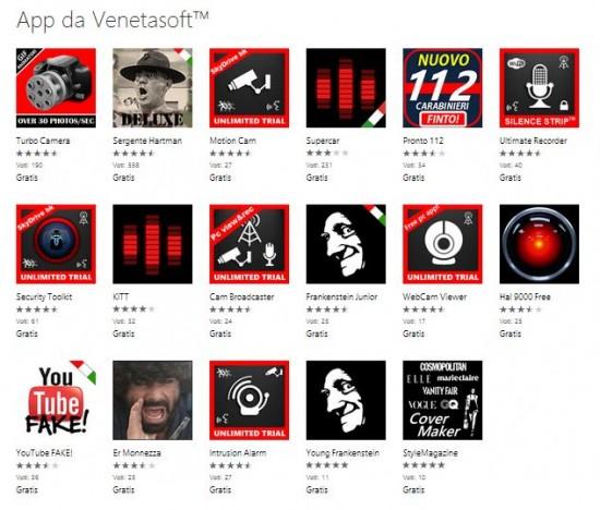 Venetasoft Apps