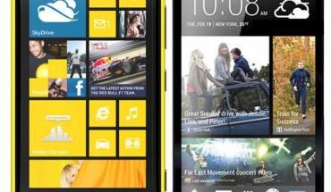 Nokia Lumia 920 Vs HTC One