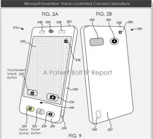 Fotocamera a comandi vocali brevetto MS