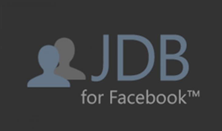 JDB for Facebook