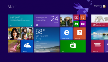 Windows 8.1 - Startscereen
