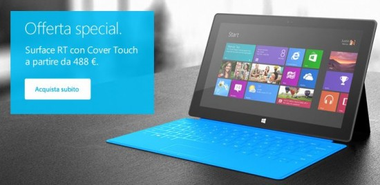 Surface RT in Offerta