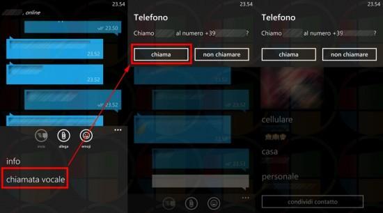 WhatsApp per Windows Phone
